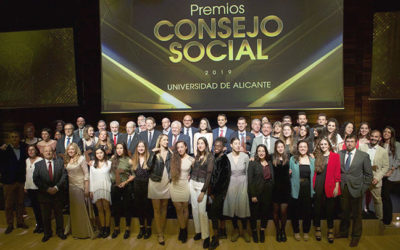 Premio Mecenazgo de investigación concedido por el consejo social de la universidad de Alicante.